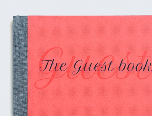 The Guest Book | Product design